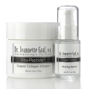 Dr. Jeannette Graf, M.D. Copper Collagen Duo, Infusion and Firming Beauty Serum