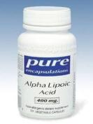 Pure Encapsulations - Alpha Lipoic Acid 400 mg 60 vcaps