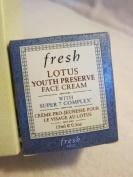 Fresh Lotus Youth Preserve Face Cream, 15ml