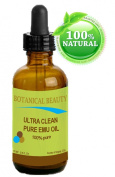 Emu Oil Ultra Clear. 100% Pure/Natural /Golden / Fully Refined. 0.5 Fl.oz- 15 ml. by Botanical Beauty