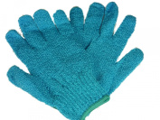 Sky Blue Exfoliating Gloves - 1 Pair