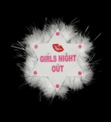 Gas Works Flashing Star Brooch Girls Night Out