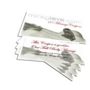 MinkgLove Coupon Book with 10 Erotic & Romantic Fur Massage Coupons