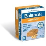 Balance Gold Peanut Butter Energy Bar, 6 Count