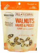 Woodstock Farms - All-Natural Walnuts Halves & Pieces - 180ml