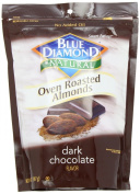 Blue Diamond Oven Roasted Almonds, Dark Chocolate, 410ml container