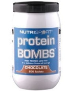 Nutrisport Protein Bombs Chocolate Tablets Pack of 200