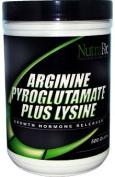 NutraBio L-Arginine Pyroglutamate Lysine - 500 G Powder