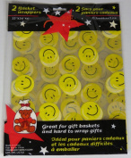 Smiley Face Basket Wrappers - 2 pack