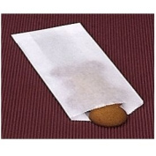 11cm . x 17cm . Glassine Waxed Paper Bags - 100/pack