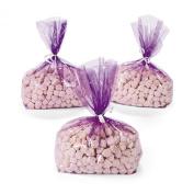 Purple Cellophane Bags (1 dz)