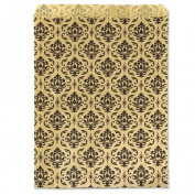 Gift Bag Damask Print 18cm x13cm