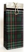 Hallmark's Green Plaid Holiday Gift Bag | XGB 4286