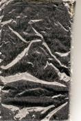 Bag-It 15cm x 25cm Fringed Cloth Gift Bag Black