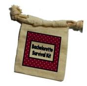 Bachelorette Survival Kit Muslin Cotton Gift Party Favour Bags