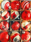 Christmas Ornaments Photo Theme Large Gift Bag - Christmas Gift Bag