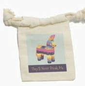 Donkey Pinata Never Break Funny - Mexican Fiesta Cinco De Mayo Muslin Cotton Gift Party Favour Bags
