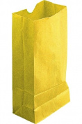 Hygloss Products Inc. Coloured Craft Bags Yellow