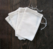 Cotton Muslin Bags 10cm x 15cm 50 Count Pack