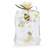 (100) Honey Bees on Clear 28cm Cellophane Bags