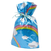 Gift Mate 21009-9 9-Piece Drawstring Gift Bags, Small, Rainbows
