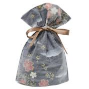 Gift Mate 21017-9 9-Piece Drawstring Gift Bags, Small, Non-Woven Asian Garden