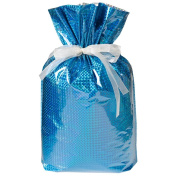 Gift Mate 21171-2 2-Piece Drawstring Gift Bags, XX-Large, Diamond Blue
