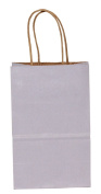 Premier Packaging AMZ-294012 15 Count Pinstripe Shopper Gift Bag, 13cm by 21cm , Wisteria