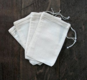 Cotton Muslin Bags 10cm x 15cm 100 Count Pack