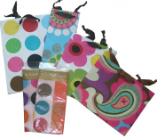 The Gift Wrap Company Bright & Posh Gift Bag and Tissue Set