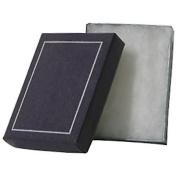 JAM Paper® Plastic Earring Box - 8.3cm x 6.4cm x 1.9cm - Purple - Sold individually