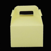 Ivory Party Favour Boxes -12 Count