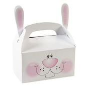 Paper Bunny Treat Boxes With Ears