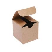 7.6cm . X 7.6cm . X 7.6cm . Kraft Gift Boxes - pack of 10