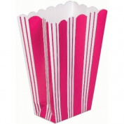 favour box - pink stripe