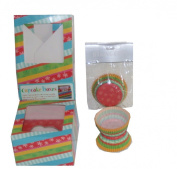 The Gift Wrap Company Party Stripe Cupcake Boxes and Baking Cups