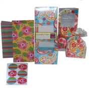 The Gift Wrap Company Birthday Paisley Party Sweets and Cupcake Celebration