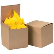 Gift Boxes, 7.6cm x 7.6cm x 5.1cm Kraft - [PRICE is per CASE]
