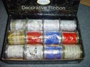 Benross 12 X 9ft Assorted Christmas Decorative Ribbon