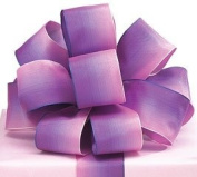 #9 Pink and Purple Watercolour Wired Satin Ribbon