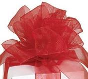 #9 Sheer Red Ribbon