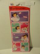 Dora the Explorer Peel 'N Stick Gift Tags