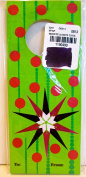Bottle Gift Tags,green w/red Polka Dots,to:from:,6 Tags,6.4cm x15cm ,The Gift Wrap Co.