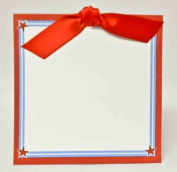 Red Ribbon Gift Tags Package of 12, Size