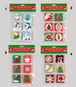6-Pack of Deluxe Holiday/Christmas Gift Tags, 4 Styles