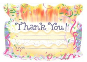 Kids Birthday Cake Thank You, Fill-In Style, 8 Pack