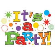invitation party time horizontal