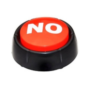 """No Button - This Button Says """"No"""" in Different Voices when Pressed"""