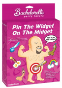 Bachelorette Party Favours Pin The Widget On The Midget