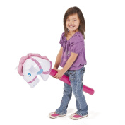 Inflatable Cowgirl Stick Horse